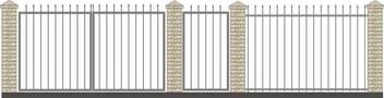 Ворота кованые ВКС-1