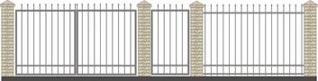 Забор кованый КСЗ-2