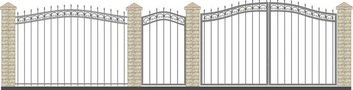 Забор кованый КСЗ-8