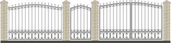 Забор кованый КСЗ-19