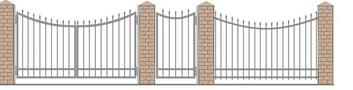 Ворота кованые ВКС-3