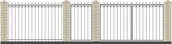 Ворота кованые ВКС-5